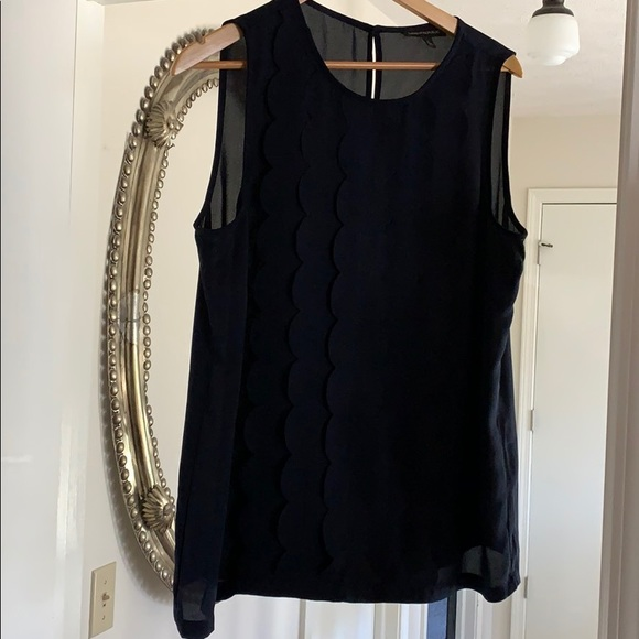 Sleeveless Blouse with detail, like new